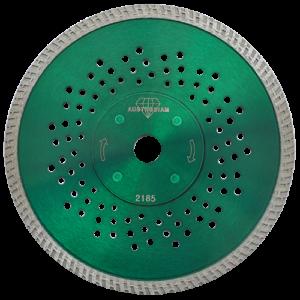 2185 - Disco de diamante verde turbo Granito