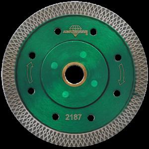 2187 - Disco de diamante verde turbo Granito