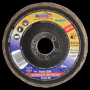 2239 - Disco laminado Xtreme Power para metal grano 60