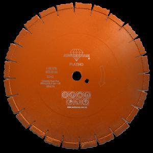 2242 - Disco de diamante naranja segmentado Corte de carreteras de concreto