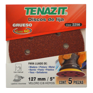 2256 - Disco de lija autoadherible antiestático grano Grueso