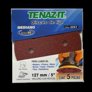 2257 - Disco de lija autoadherible antiestático grano Mediano