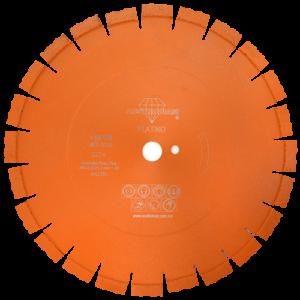 2274 - Disco de diamante naranja segmentado Corte de carreteras de concreto