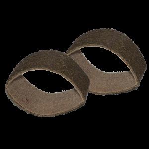 2322 - Banda de fibra café grano Grueso
