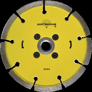 2544 - Disco de diamante amarillo turbo con segmento protector Cantera
