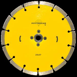 2547 - Disco de diamante amarillo segmentado Cantera