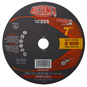 255 - Disco para corte de metal