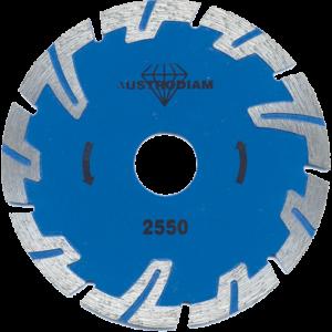2550 - Disco de diamante azul turbo Uso General