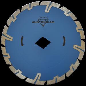 2551 - Disco de diamante azul turbo Uso General