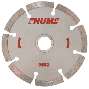 2552 - Disco de diamante segmentado HUM