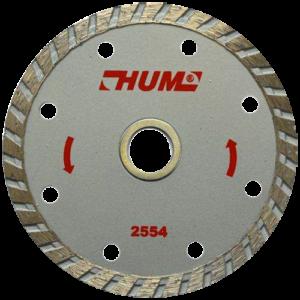 2554 - Disco de diamante turbo HUM