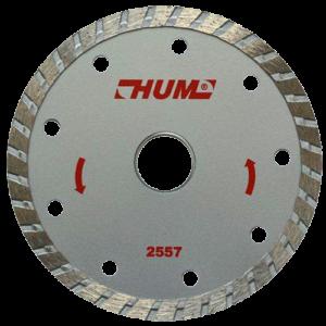 2557 - Disco de diamante turbo HUM