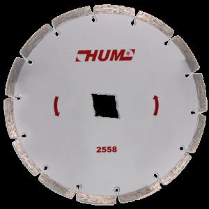 2558 - Disco de diamante segmentado HUM