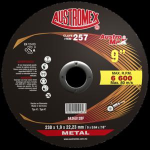 257 - Disco para corte de metal