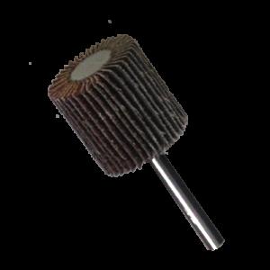2611 - Rueda flap Chip-cut con vástago grano 60