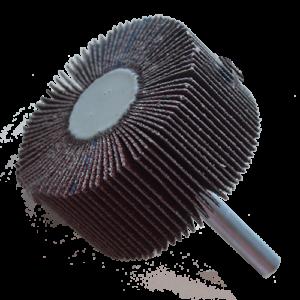 2616 - Rueda flap Chip-cut con vástago grano 80