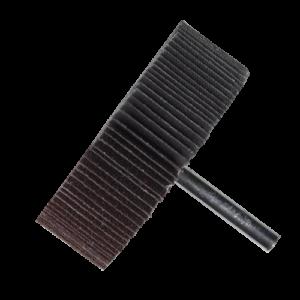 2618 - Rueda flap Chip-cut con vástago grano 40