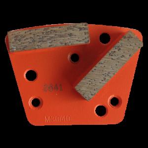 2641 - Segmentos de diamante Pulido de concreto grano 30/40