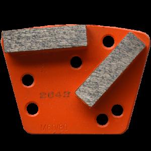 2642 - Segmentos de diamante Pulido de concreto grano 60/80