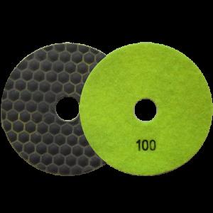2671 - Pad de diamante Pulido en seco grano 100