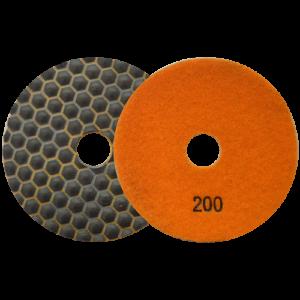2672 - Pad de diamante Pulido en seco grano 200