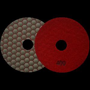 2673 - Pad de diamante Pulido en seco grano 400