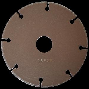 2683 - Disco de diamante segmentado Soldado al vacio Metal