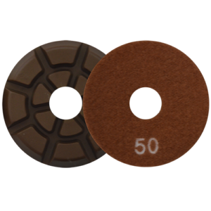 2720 - Pad de diamante Pulido de pisos de concreto grano 50