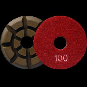 2721 - Pad de diamante Pulido de pisos de concreto grano 100