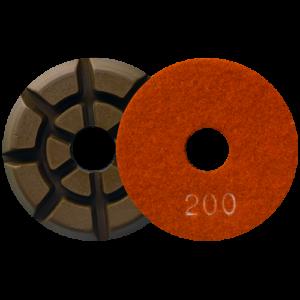 2722 - Pad de diamante Pulido de pisos de concreto grano 200