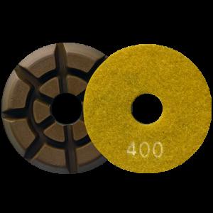2723 - Pad de diamante Pulido de pisos de concreto grano 400