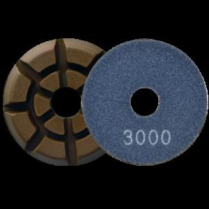 2726 - Pad de diamante Pulido de pisos de concreto grano 3000