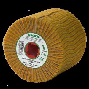 2781 - Rodillo de fibra con lija de ALO piramidal grano 600