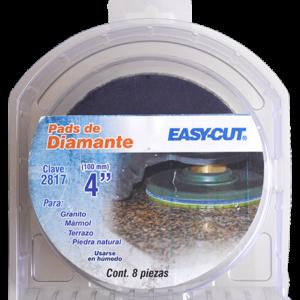 2817 - Paquete de 8 pads de diamante Pulido en humedo Easy-cut