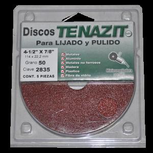 2835 - Fibrodisco de Óxido de aluminio grano 50