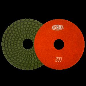 2872 - Pad de diamante Pulido en humedo Easy-cut grano 200