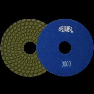 2876 - Pad de diamante Pulido en humedo Easy-cut grano 3000