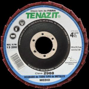 2968 - Disco laminado de Fibra grano Mediano