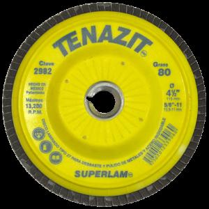 2982 - Disco laminado SUPERLAM grano 80
