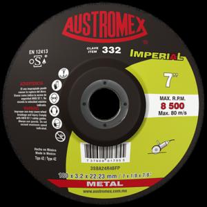 332 - Disco con centro deprimido para corte de metal