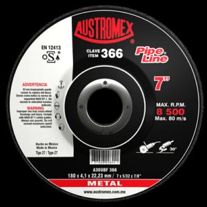 366 - Disco con centro deprimido para desbaste de metal
