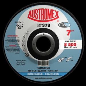 378 - Disco con centro deprimido para corte de acero inoxidable