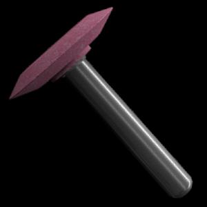 406 - Punta montada rosa tipo A
