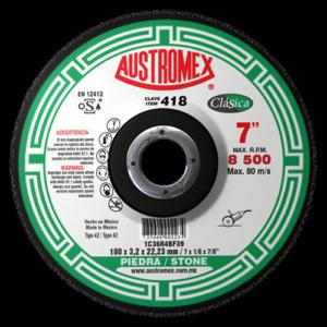 418 - Disco con centro deprimido para corte de piedra