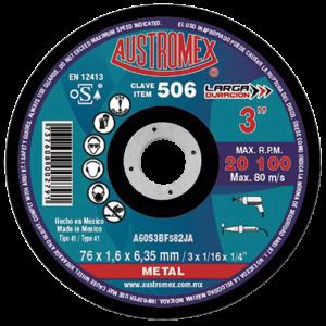 506 - Disco para corte de metal