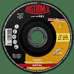521-Disco Con Centro Deprimido Para Desbaste de Metal