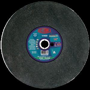 522 - Disco para corte de piedra (concreto verde y asfalto)