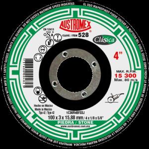 528 - Disco con centro deprimido para corte de piedra