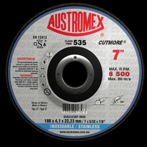 535 - Disco con centro deprimido para corte de acero inoxidable