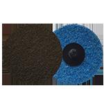 623 - Disco de fibra de cambio rápido café Grano grueso